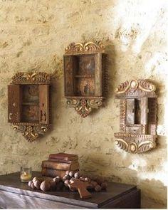 Retablos: Antique Alter Pieces