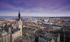 Aberdeen City, Scotland ... The Granite City