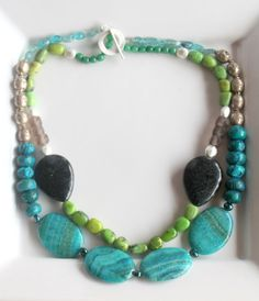 Fun and Chunky Statement Necklace