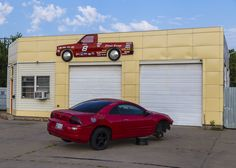https://flic.kr/p/vitC4d | Chevy's Garage | Found this while driving in Oklahoma City.