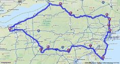 Driving Directions from Litchfield, OH to Litchfield, OH - MapQuest Ny Parks, State Parks, Planning Maps, East Stroudsburg, Chatham Kent, Letchworth State Park, Corning Glass, Valley Forge, Glass Museum