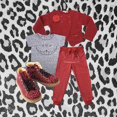 GIRLS LOOK !!! Cardigan by Silvian Heach - Shirt by emile & ida - Pants by Silvian Heach - Shoes by Ocra