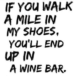 t's Thirsty Thursday and the wine bars are calling my name!
