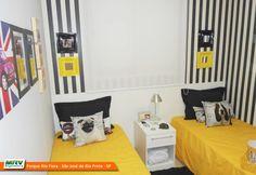Apartamento decorado 2 dormitórios do Rios d Itália - Parque Rio Fiora no bairro Região das Represas - São José do Rio Preto - SP - MRV Engenharia.