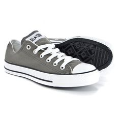 purchase cheap fd9f4 82dec Details about CONVERSE Little Kid s Chuck Taylor All Star OX Low sz 1  Charcoal Gray EUR 32