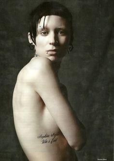 Everyone has secrets...Todo mundo tem segredos... The Girl With The Dragon Tattoo (Millenium-Os homens que não amavam as mulheres) Rooney Mara as Lisbeth Salander