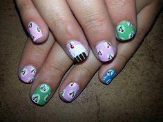 CHERRY!! - Nail Art Gallery nailartgallery.nailsmag.com by nailsmag.com #nailart