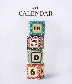 DIY 2013 Calendar