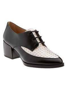 erica stud heeled oxford