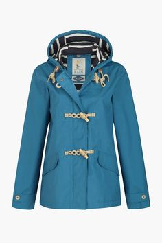 The original and best! Hip length raincoat in Seasalt's famous Tin Cloth® fabric. Waterproof, windproof and breathable. Girls Raincoat, Green Raincoat, Dog Raincoat, Hooded Raincoat, Black Rain Jacket, Rain Jacket Women, Raincoats For Women, Jackets For Women, Outdoor Coats