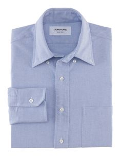 Thom Browne : CLASSIC OXFORD BUTTON DOWN SHIRT - MWL001AW5258