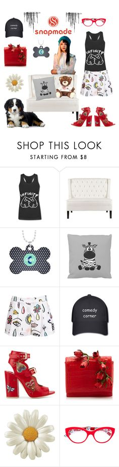"""WIN $30 Coupon: Get your own personalized items"" by tarparamu ❤ liked on Polyvore featuring Moschino, Laurence Dacade, Nancy Gonzalez and Dolce&Gabbana"