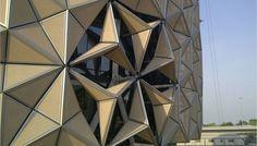 Trans...very cool facade.