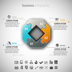 Business Infographic — Photoshop PSD #promotion #marketing • Available here → https://graphicriver.net/item/business-infographic/11604885?ref=pxcr