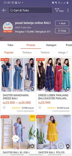 Shopping Stores, Shopping Websites, Best Online Clothing Stores, My Little Pony Wallpaper, Street Hijab Fashion, Casual Hijab Outfit, Batik Dress, Wardrobes, Shops