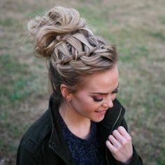 waterfall-braid-top-knot