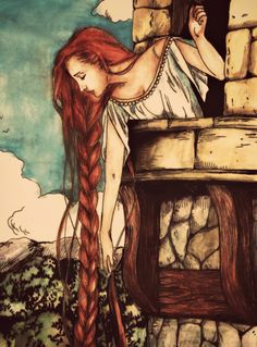 ✯ Persinette .. By Serwaa .. A name I didn't know for Rapunzel .. More on the History of the Tale Here: http://suite101.com/article/the-origin-and-history-of-rapunzel-a148496  ✯