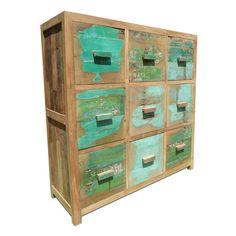 9 Drawer Cabinet