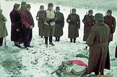 Hungarian soldier funeral in the eastern front 1943 Funeral, Eastern Front Ww2, Man Of War, War Dogs, World War One, German Army, Wwii, Soldiers, Rare Images
