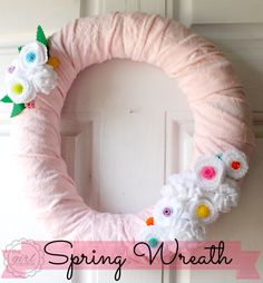 SNAP Break with The Girl Creative: Spring Wreath