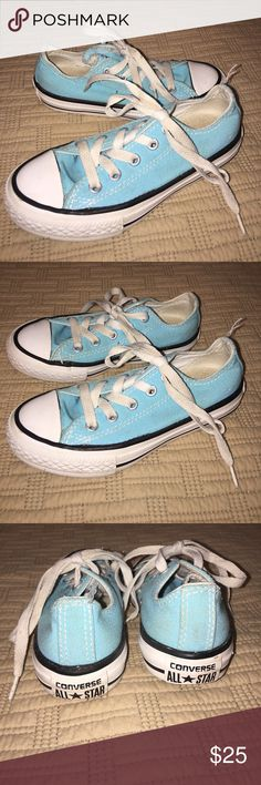 4th of July--Converse All Stars Kids Size 11 Very Good Condition; please review pictures carefully.... Converse Shoes Sneakers