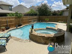 Your backyard paradise awaits Leisure Pools, Free Pool, Pool Contractors, Pool Companies, The Neighbor, Fiberglass Pools, Backyard Furniture, Pool Accessories, Backyard Paradise