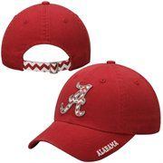 Alabama Crimson Tide Top Of The World Ladies Chevron Crew Adjustable Hat – Crimson