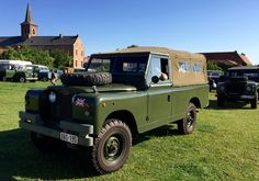 Land Rover 109 Serie II A soft top canvas.