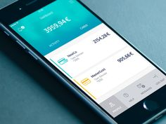 Bank App Profile by Lukasz Okonski