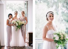 Flowers by - Chanele Rose Flowers - white and green wedding - pretty bridal bouquets  as seen on Wedded Wonderland / images by Istyle photography