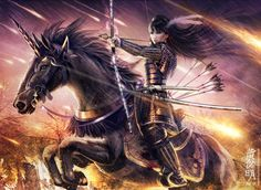 Otako_Naoko_by_raynkazuya She who rides upon a male unicorn