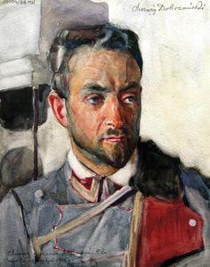 Chor. Zygmunt Dobrzański, 2 p. uł., rys. Stanisław Janowski