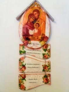 Krakowianka jedna...: Ikona św. Rodziny...