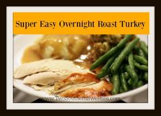 Super Easy Overnight Roast Turkey - This turkey is full-proof. It will come out super moist and best of all, it cooks overnight! Baking Soda Shampoo, Baking Soda Uses, Best Chicken Ever, Roasted Turkey, Stick Of Butter, Southern Recipes, Turkey Recipes, Thanksgiving Recipes, Great Recipes
