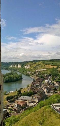 Les Andelys #château Gaillard