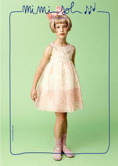 While I am wearing this dress I feel like an elegant ballerina...  #MiMiSol #imeldebronzieri #SS2014 #childrenswear #ballerina #pink #sweet #fashion #springsummer2014 #elegance #ribbon