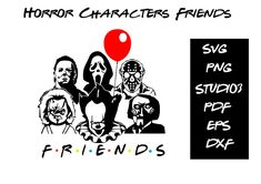 Ghost Faces, Chucky, Horror Movies, No Time For Me, My Design, Cricut, Pdf, Characters, Messages