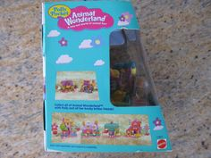 POLLY POCKET Boxed Set Animal Wonderland  by AntiquesForKeeps, $48.00
