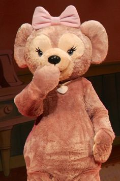 Darling Shellie May at DisneySea Tokyo.
