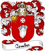Combes Coat of Arms  Combes Family Crest   VIEW OUR FRENCH COAT OF ARMS / FRENCH FAMILY CREST PRODUCTS HERE