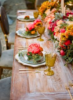 Colorful Spring Wedding Inspiration Shoot - MODwedding
