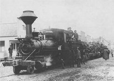 If you go back about 112 years, Saginaw, TX was the scene of one of the most sensational train robbery stories of its time.
