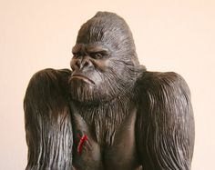 FIGURE KING KONG Original Sculpture Gorilla Of от AntoniMaslyk