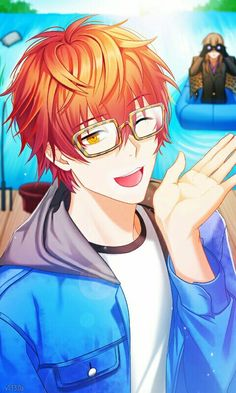 Image shared by mitchie. Find images and videos about mystic messenger, seven and 707 on We Heart It - the app to get lost in what you love. Mystic Messenger Characters, Mystic Messenger Fanart, Seven Mystic Messenger, Ruki Mukami, Luciel Choi, Anime W, Naruto E Boruto, Saeran, Fandoms
