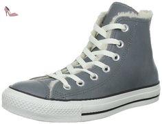 CONVERSE Chaussures - CTAS Hi Lea SHEARLING - 132126 - charcoal 273946565