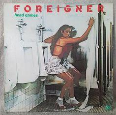 "FOREIGNER 1979 Head Games 12"" Vinyl 33 LP ROCK Dirty White Boy Seventeen VG+/VG #Rock"
