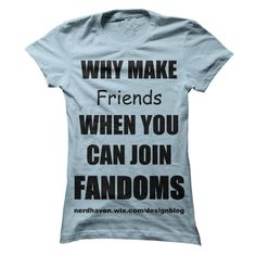 Fandom shirt T-Shirts, Hoodies. GET IT ==► https://www.sunfrog.com/LifeStyle/Fandom-shirt.html?id=41382