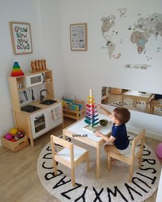 How to Design the Perfect Montessori Toddler Room How to Design th. - kids - How to Design the Perfect Montessori Toddler Room How to Design the Perfect Montessor - Boy Toddler Bedroom, Toddler Playroom, Kids Bedroom, Toddler Room Decor, Toddler Play Area, Small Playroom, Ikea Kids Room, Playroom Storage, Childminders Playroom