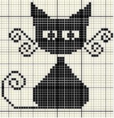 Thrilling Designing Your Own Cross Stitch Embroidery Patterns Ideas. Exhilarating Designing Your Own Cross Stitch Embroidery Patterns Ideas. Blackwork, Pixel Crochet, Crochet Cross, Stitch Crochet, Crochet Chart, Cross Stitch Charts, Cross Stitch Patterns, Cat Cross Stitches, Loom Patterns