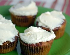 Creamy Cream Cheese Frosting (not sure if there's a diary free) on http://www.elanaspantry.com